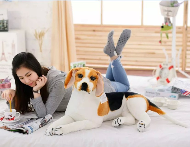 large 80cm prone beagle dog plush toy,high quality goods ,birthday gift Christmas gift h2927 super cute plush toy dog doll as a christmas gift for children s home decoration 20