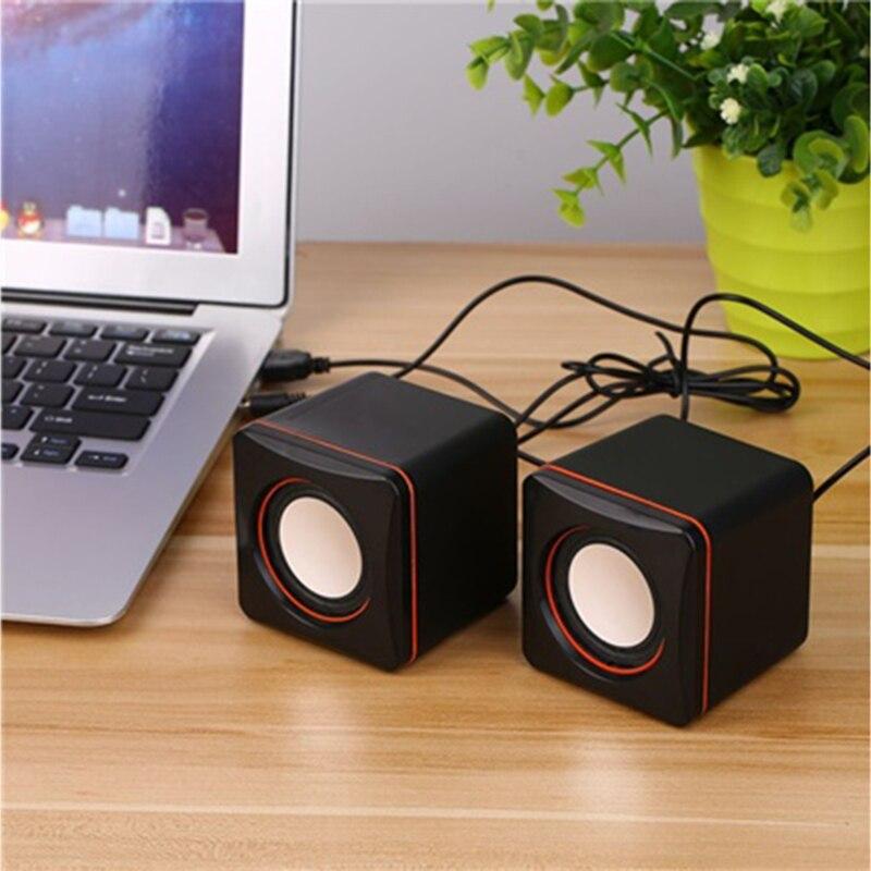 Vapeonly Mini altavoz portátil 3,5mm escritorio portátil con Cable altavoces Multimedia USB ordenador altavoz Super Bass Music Player