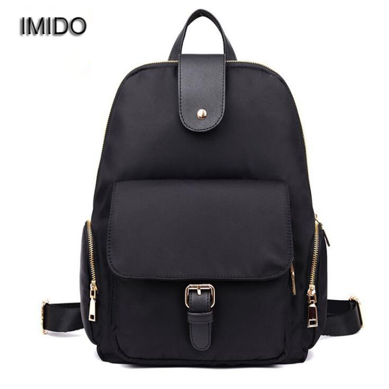 IMIDO Hot Brand High Quality Nylon travel Backpack women backbags shoulder bags female backpacks for girls mochilas mujer SLD005