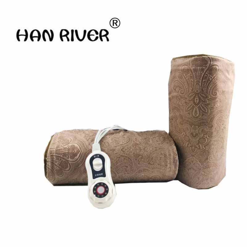 HANRIVER Electric heating moxa spontaneous hot tsao apply to protect the knee joints, physical therapy product package hanriver health care electric heating knee and leg pads electrical heating therapy knee arthritis rheumatism ease the pain