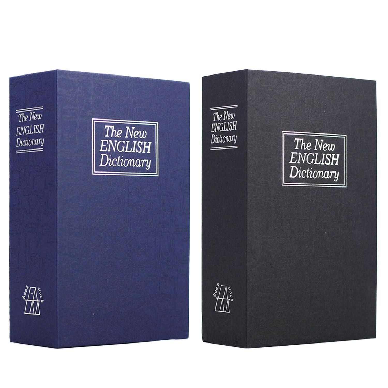 dicionario portatil estilo livro caixa de armazenamento seguro codigo bloqueio caso caixa para pessoal dinheiro joias