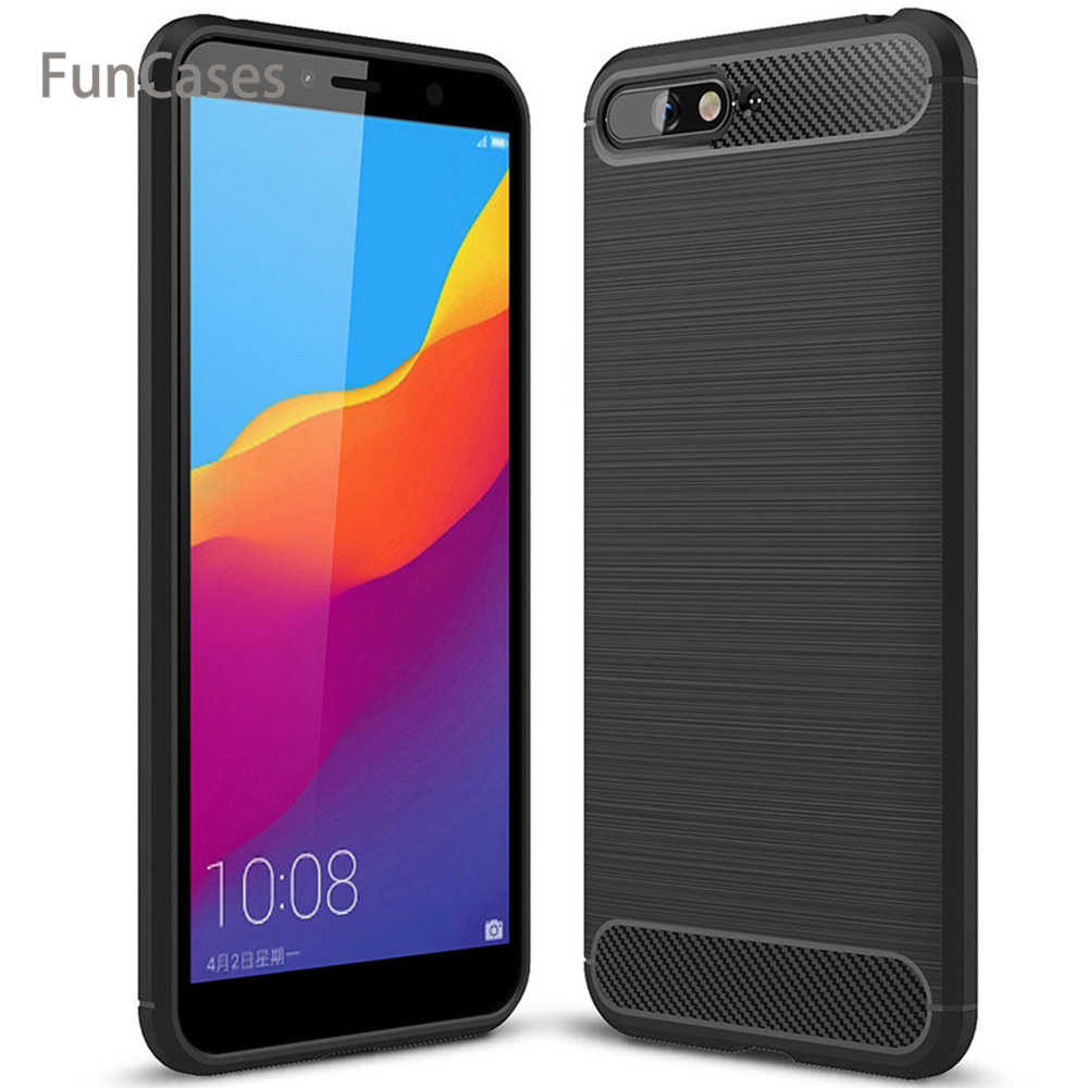 For Huawei Y6 2018 Case Cover Luxury Shockproof Soft TPU Silicone Back Cover Funda Coque For Huawei Y6 2018 Huwei celphone