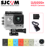 Free Shipping With Battery Charger Original SJCAM SJ5000X Elite WiFi 4K 24fps 2K 30fps Gyro Sports