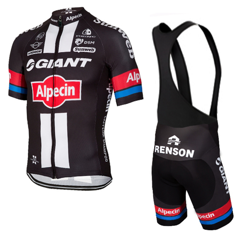 GIANT Cycling jersey 2016 pro team Alpecin ropa ciclismo hombre short bike mtb cycling clothing bicycle maillot ciclismo