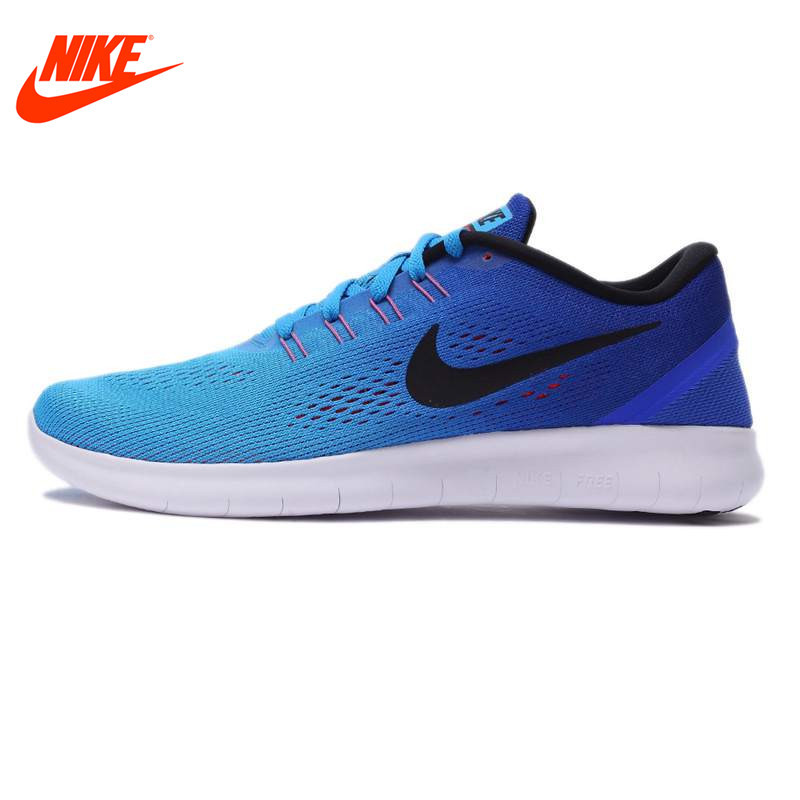Original NIKE 2017 New Arrival Breathable FREE RN Men's Running Shoes Sneakers original new arrival nike free rn flyknit r women s running shoes sneakers
