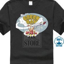 8290f2df59d Día Verde 'Dookie (gris) camiseta nueva y oficial impresa hombres camiseta  ropa Top envío gratis moda de verano