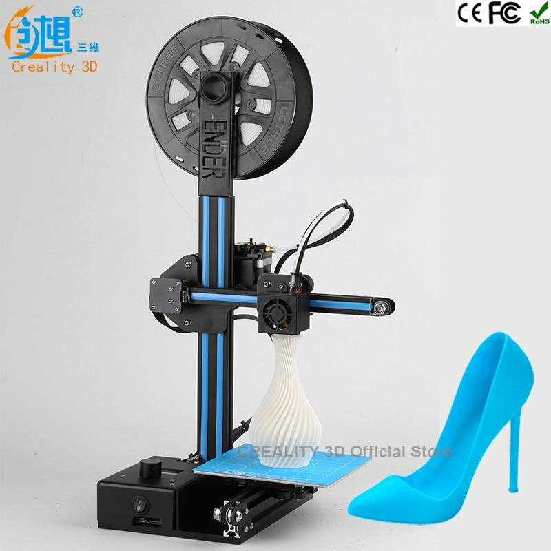 Latest CREALITY 3D Newest Ender-2 Cheap 3D Printers Metal frame 3d printer machine Reprap prusa i3 3d printer kit DIY filaments 2017 newest tevo tarantula prusa i3 3d printer diy kit