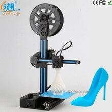 Последние CREALITY 3D Новейшие Ender-2 Дешевые 3D Принтеры Металлический каркас 3d машина принтер Reprap prusa i3 3d-принтер комплект DIY нити