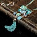 Especial Nueva Borla de La Manera Collares y Colgantes CZ XL16053 Diamiond Maxi Collar de la Declaración de Cristal Regalos de La Joyería para Las Mujeres