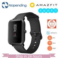 Английский новый оригинальный Хуа mi Amazfit Bip бит Lite Смарт часы mi Смарт часы подходят отражение Smartwatch Водонепроницаемый IP68 для Сяо mi