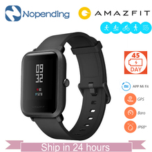 English NEW Original Huami Amazfit Bip BIT Lite Smart Watch Mi Smart Watch Fit Reflection font