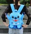 1 PC 28 cm 35 cm dos desenhos animados Stich lovely plush mochilas 1 - 7 anos do jardim de infância shoulder bolsa Satchel menina presente do bebê brinquedo