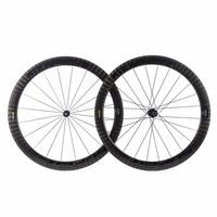 12K Full Carbon Road Bike Wheels 700c Carbon Road Bike Wheelsets, U Shape Clincher Bicycle wheels 25mm width Bike Carbon Wheels