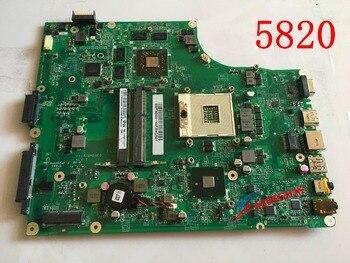 NEW MB. ptn06.001 mbptn06001 for acer aspire 5820 5820tg laptop motherboard dazr7bmb8e0 hm55 ddr3 hd5650 discrete graphics
