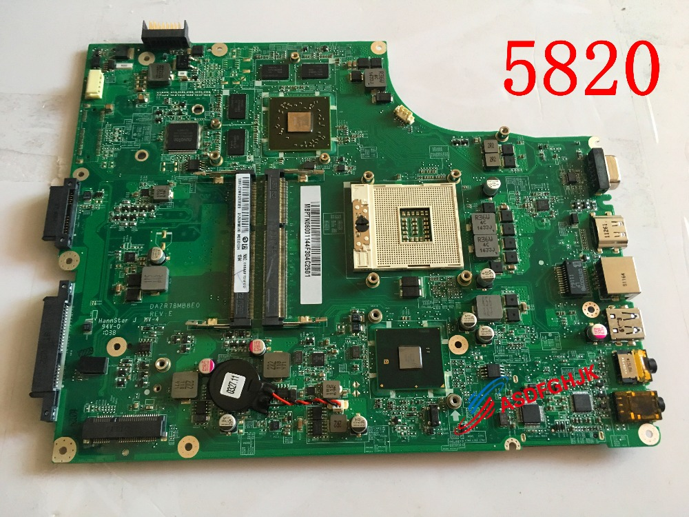 NEW MB. ptn06.001 mbptn06001 for <font><b>acer</b></font> aspire 5820 <font><b>5820tg</b></font> laptop <font><b>motherboard</b></font> dazr7bmb8e0 hm55 ddr3 hd5650 discrete graphics image