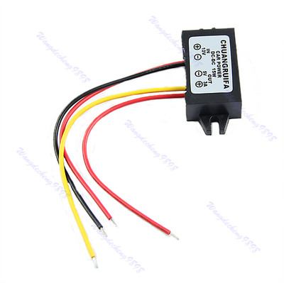 все цены на C18  New 1pc DC/DC Converter Regulator 12V to 5V 3A 15W Car Led Display Power Supply Module онлайн