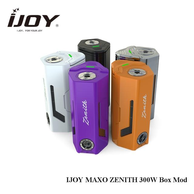 Оригинальная IJOY maxo Зенит поле mod 300 Вт без 18650 Батарея для IJOY rdta 5 танк распылитель электронная сигарета mod 510