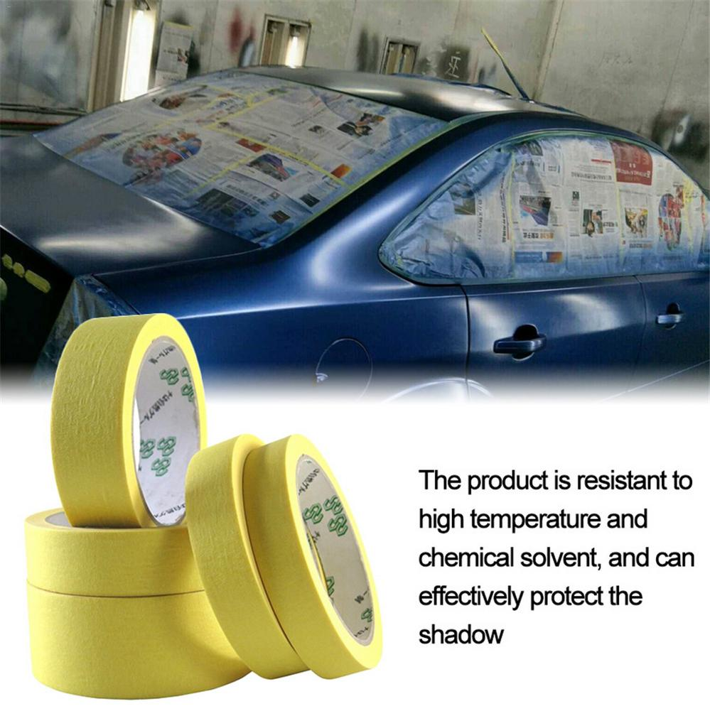 10PCS Masking Tape Paper Wall Spraying Strip Protective Tapes for Auto Car Nail Care Textured Paper Decor Tools Accessories