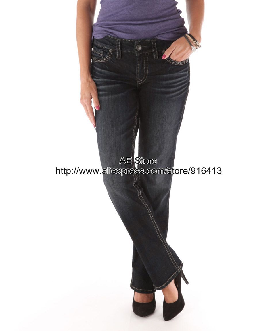 Online Buy Wholesale black jeans women bootcut from China black ...