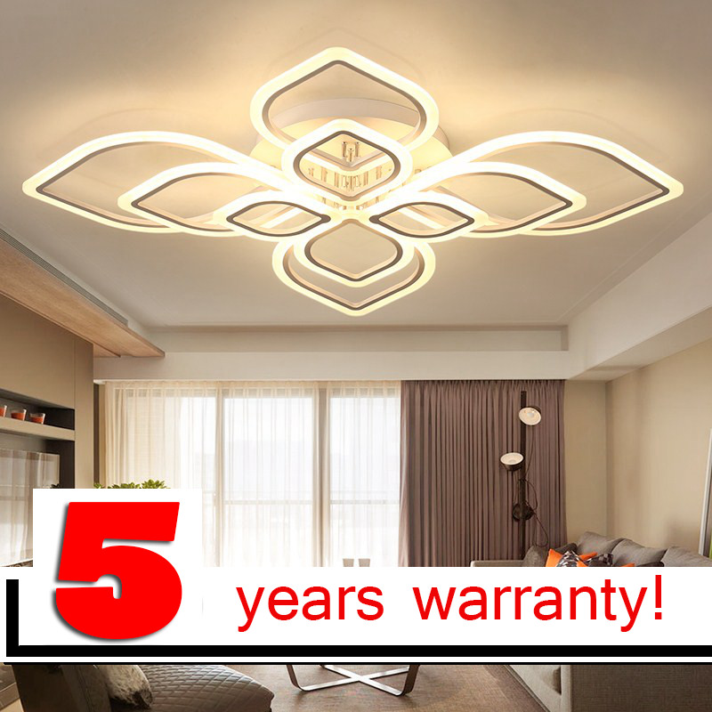 LOFAHS moderne led lustres pour salon chambre salle à manger acrylique Intérieur accueil plafond lustre lampe luminaires