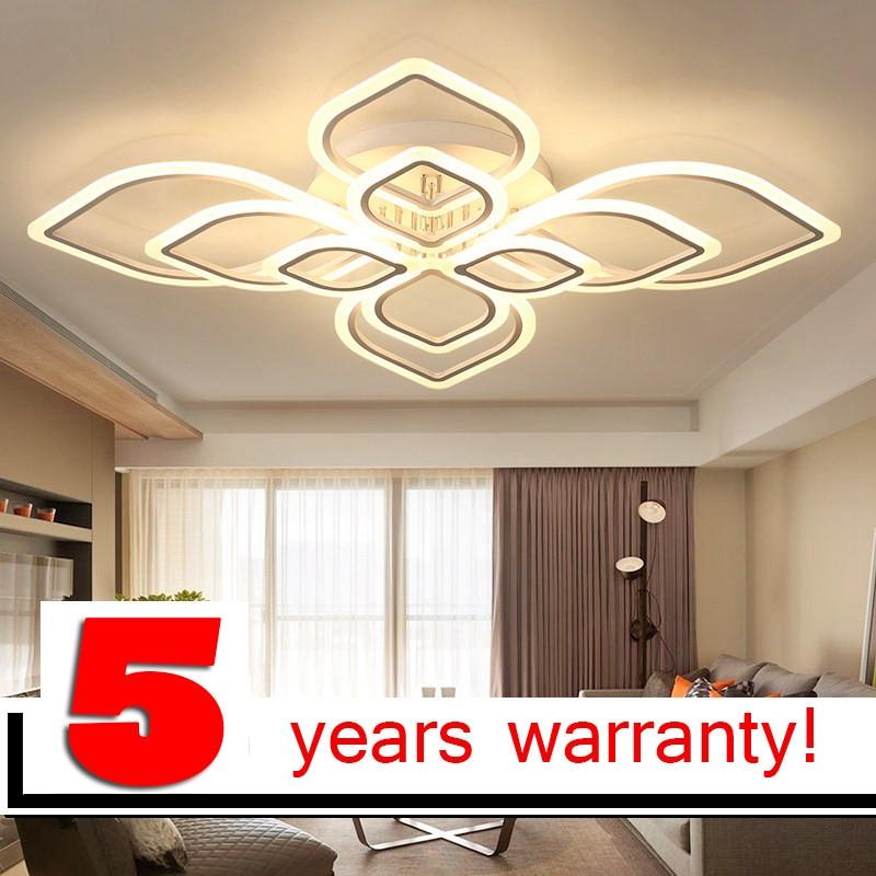 Lofahs moderno led lampadari per soggiorno camera da letto sala da pranzo acrilico coperta casa - Lampadari a led per casa ...