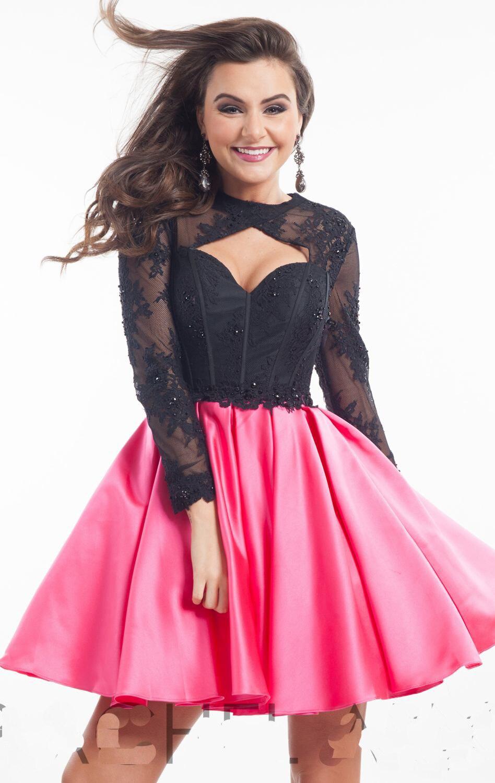 Cóctel Vintage vestido de corsé superior Puffy corto vestido de ...