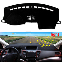 Car Dashboard Avoid Light Pad Instrument Platform Desk Cover Mats Carpets Auto Accessories For Ford Explorer
