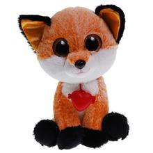 Мягкая игрушка DREAM MAKERS Глазастик Лисёнок, 23 см