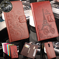 UMI Супер Case Luxury Элегантный Цветок Башня Выбивая Кожаный бумажник флип защитный чехол case для UMI Макс/UMI Супер