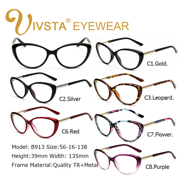 IVSTA Women Retro Cat Eye Eyeglasses Brand Spectacles Glasses Optical Spectacle Frame Vintage Computer Reading Glasses oculos