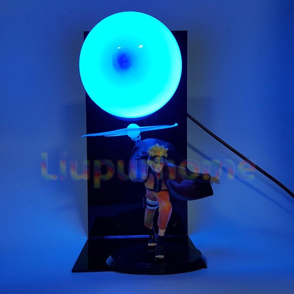 Naruto lumière Led Rasengan modèle Anime Naruto Shippuden Uzumaki Naruto Led veilleuses lampe Blub pour cadeau de noël