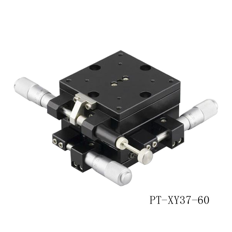 PT-XY37 XY Axis Manual Linear Stage, Manual Multi-axis Station, Manual Platform, Optical Sliding Table  цены