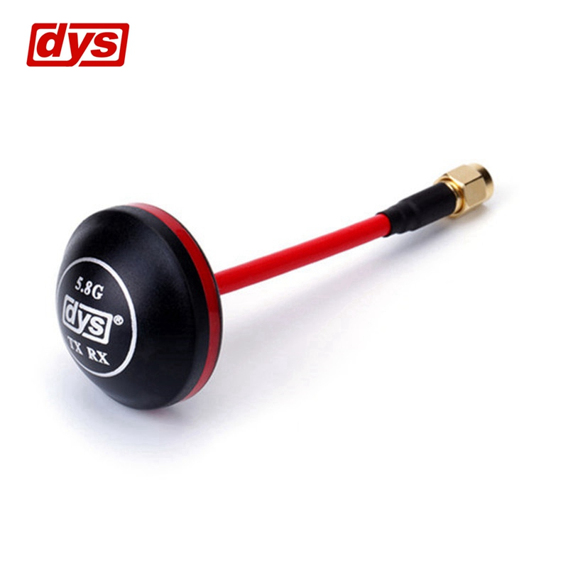DYS FPV 5.8G Antenna 4dBi Mushroom Antenna RHCP TX RX SMA RP-SMA Male For FPV Quadcopter RC Drones Goggles Image Transmission welly welly набор машинок служба спасения пожарная команда 9 штук