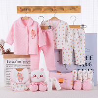 Winter Baby Clothing Set Brand Baby Boy/Girl Clothes Set New Born Baby Clothes Thick Underwear 100% Cotton 18PCS/set