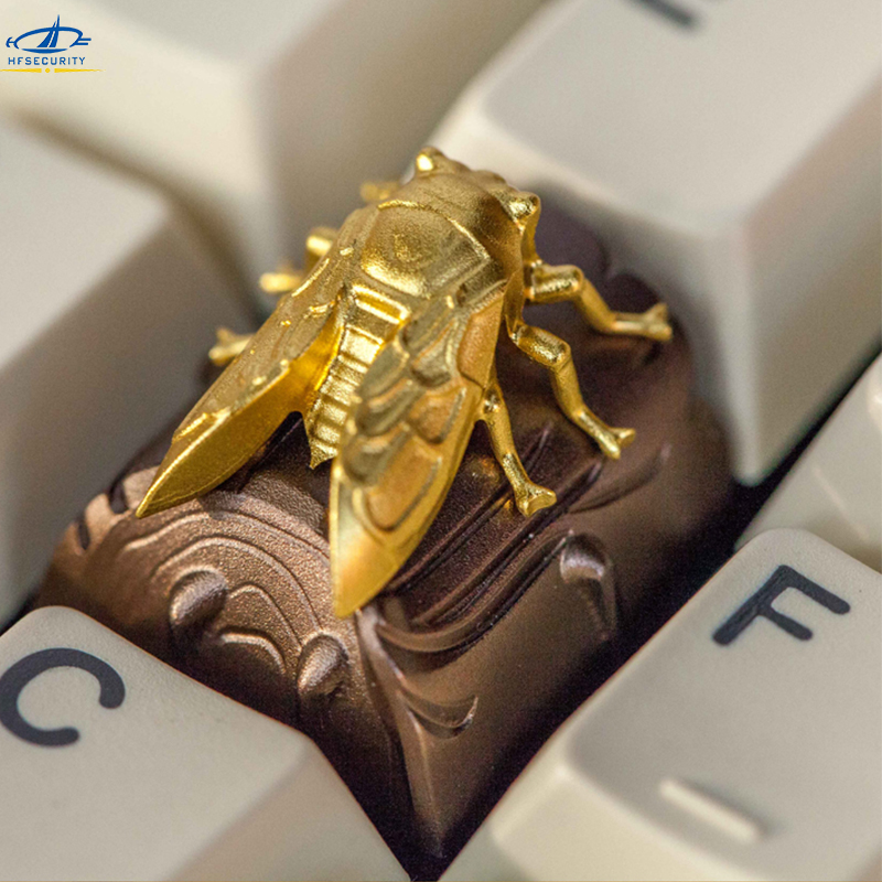 HFSECURITY OEM R4 Aluminum Keycaps For Mechanical Keyboards ZOMO Insect Keypress Keyset For Cherry MX Gaming