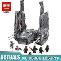 Lepin 05006 Star Wars Kylo Ren Command Shuttle LEPIN Building Blocks Educational Lovely Funny Gifts Toys