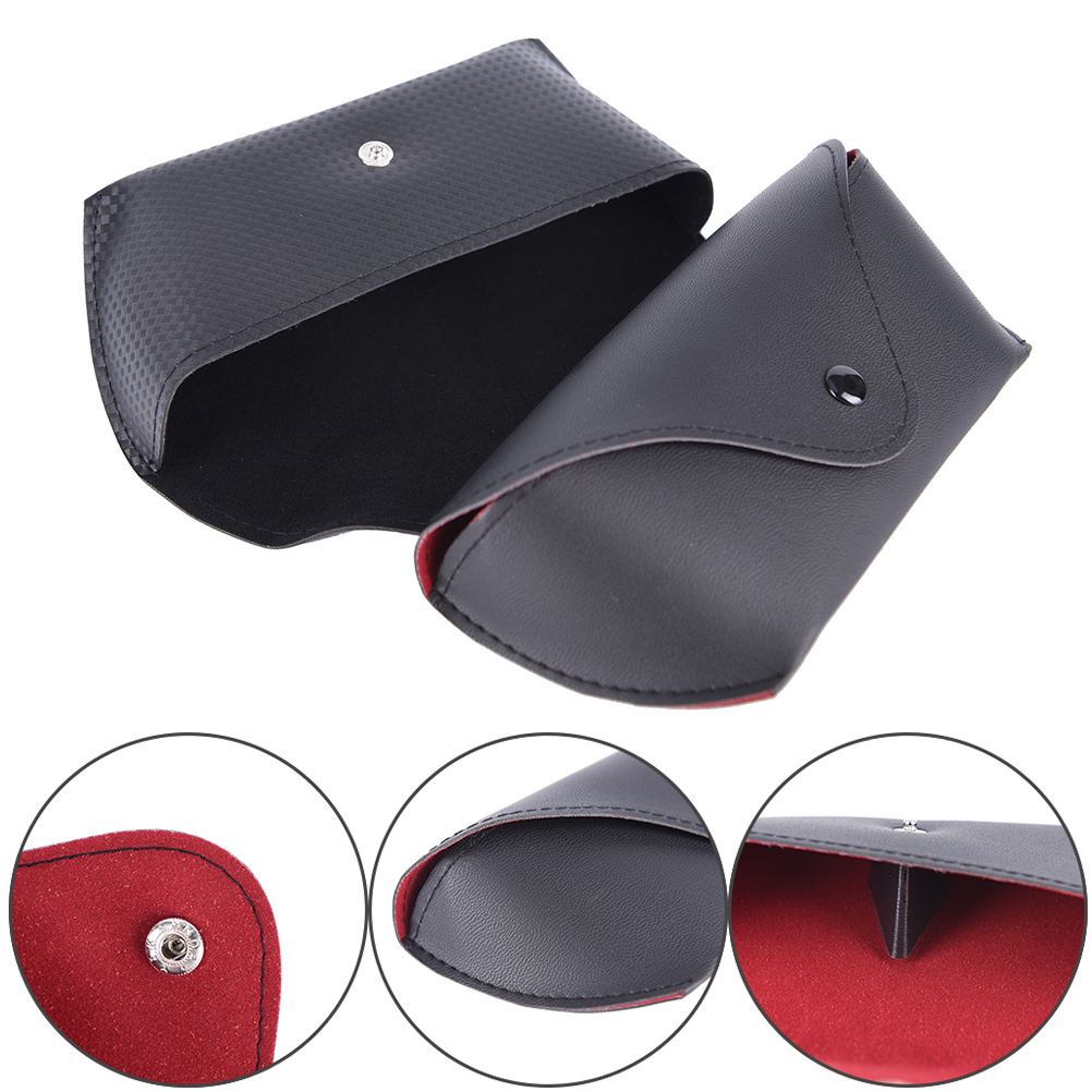 16*7CM Waterproof sunglasses case for sun glasses case Snake Skin Soft leather glasses box eyewear accessories