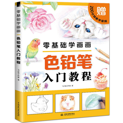 Chinese Color Pen Pencil Painting Book Zero Basic Painting :beginners Color Pencil Introductory Tutorial Drawing Book