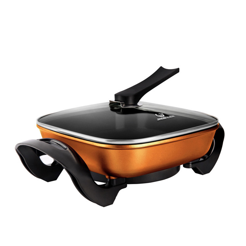 220V/1300W Multifunction Electric Hot Pot Smokeless And Nonstick Korean Electric Pan