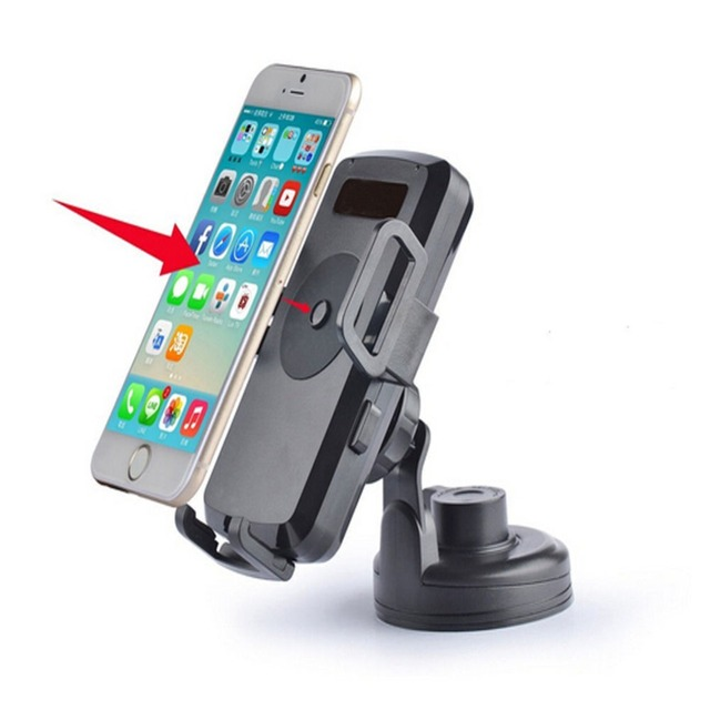 Universal Wireless Qi Standard Car Mount Charger Holder  for Samsung  s7 S7 Edge S6 Edge  s5 s4 note 4 3 s3 for iphone 5s 5c 6