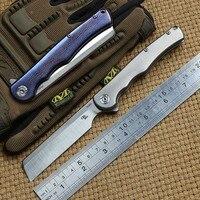 CH man бритва складной нож S35VN лезвие шариковая подшипниковая шайба титановая для выживания на открытом воздухе кемпинга охотничьи Карманные