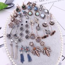 KISS ME Mix серьги трендовые акриловые полимерные геометрические насекомое сердце Висячие серьги женские модные ювелирные изделия