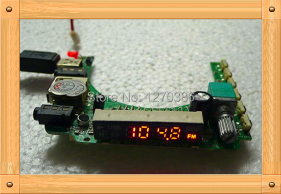 Free Shipping!!! 5pcs MP3 decoder board (with FM radio) / mp3 decoder (with 2W PA) / FM radio module niorfnio portable 0 6w fm transmitter mp3 broadcast radio transmitter for car meeting tour guide y4409b
