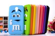 10 Цветов 3D М & М Шоколад Чехол Для Samsung Galaxy S4 Коке Силиконовый чехол Мягкий Funda Carcasa Для Capa Para Samsung S4 i9500