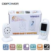 Electronica 2 Pulgadas Inalámbrico Bebé Monitor de Vídeo IR Cámara de Vídeo de Seguridad de 2 Vías de Conversación de Audio Mini Cámara de Monitoreo de Temperatura Ambiente