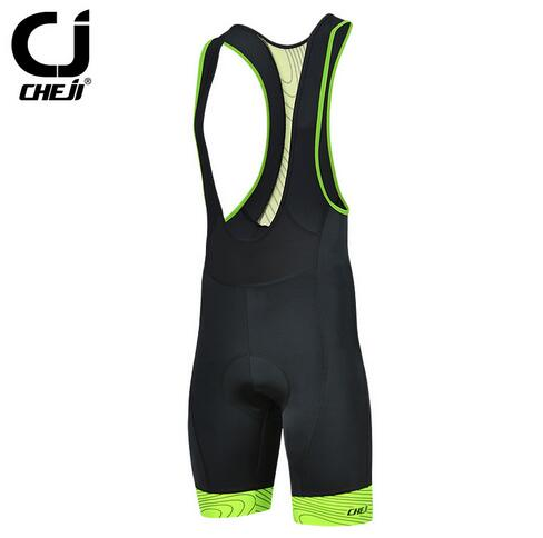 2017 CHEJI Polar Men's Cycling Bike Bicycle Bib Shorts 3D GEL Padded Size S-3XL
