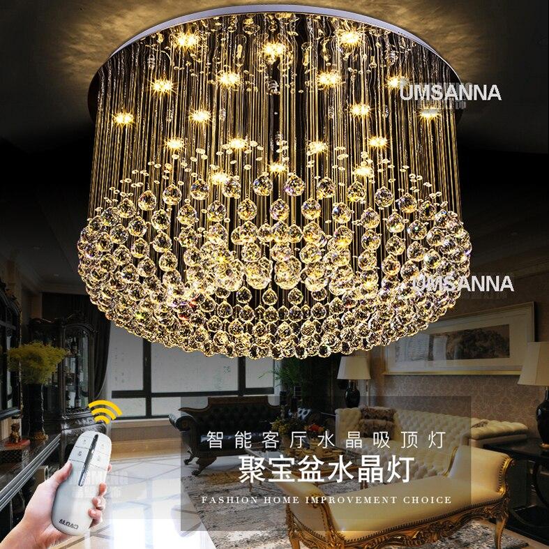 ღ Ƹ̵̡Ӝ̵̨̄Ʒ ღModern Chandeliers Crystal LED Dimmable Chandelier ...