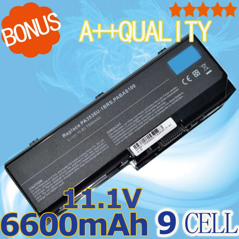 9 cell Laptop <font><b>Battery</b></font> PA3536U-1BRS PA3537U-1BAS PA3537U-1BRS PABAS100 PABAS101 for <font><b>Toshiba</b></font> Equium <font><b>L350</b></font>-10L P200 <font><b>Satellite</b></font> <font><b>L350</b></font> image