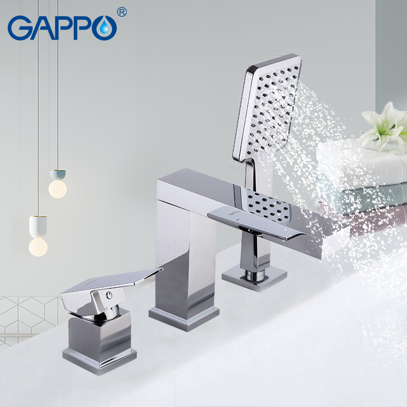 GAPPO bathtub faucets set waterfall faucet deck mounted tub faucet bath tub mixer bathroom mixer robinet