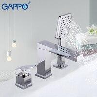 Гаппо ванна кран s Набор Водопад кран вмонтированный смеситель для ванной кран для ванной смесители для ванной комнаты Робине baig смесители